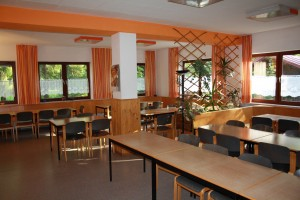 Speisesaal im Haupthaus
